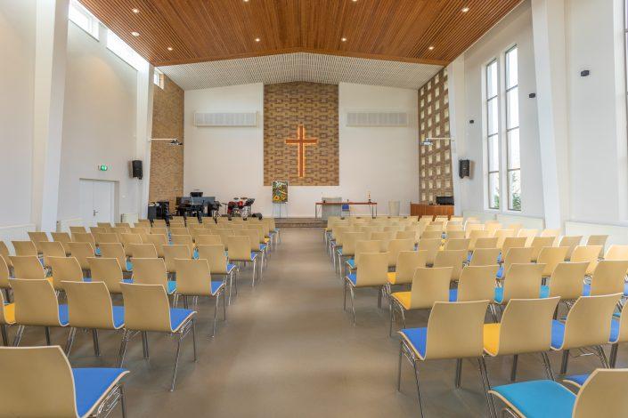 NEBOkerk interieur