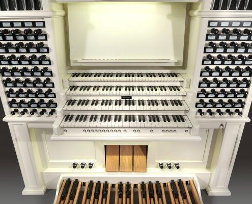 custom made orgel wit