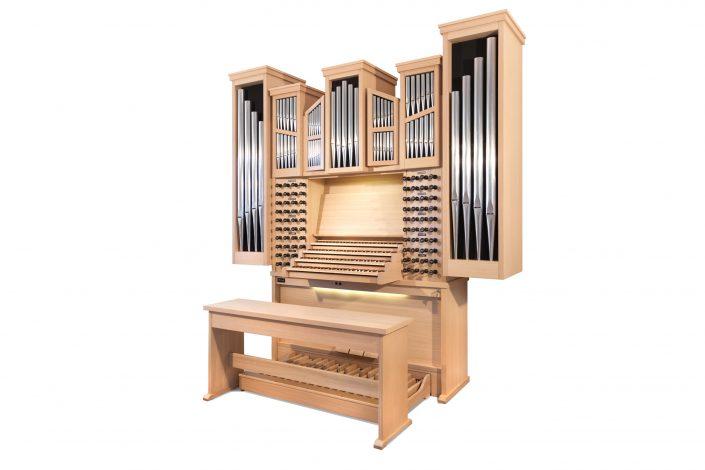 Orgel met Sampleset Marcussen-hoofdorgel uit de Rotterdamse Sint-Laurenskerk