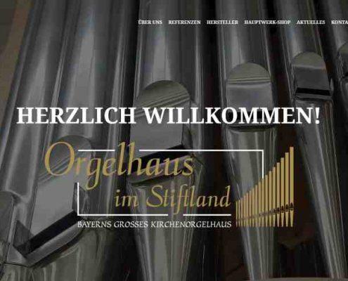 Orgelhaus in Stifland