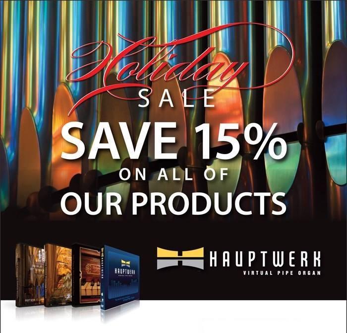 Sale 15% korting hauptwerk