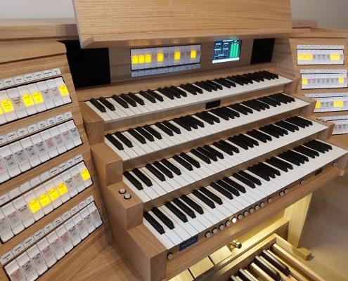 Mixtuur Hauptwerk-orgel